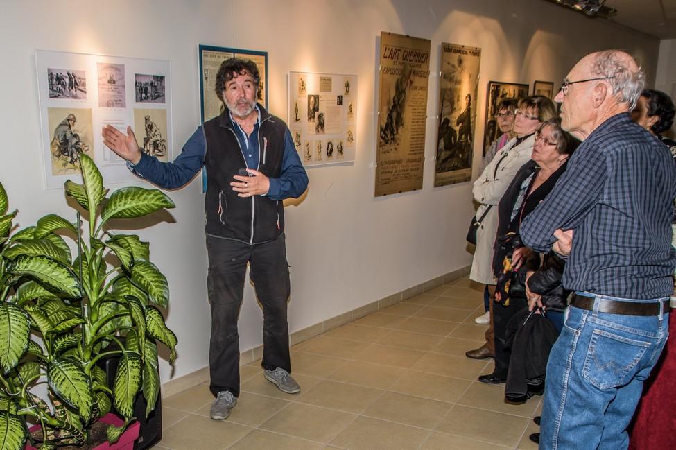 Vernissage de l'exposition Lucien Jonas