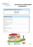 TLPE – Formulaire de déclaration 2018