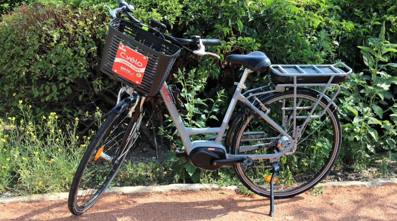 C.vélo roule jusqu'à Gerzat!