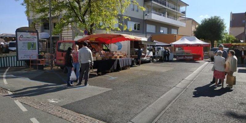 Réouverture des marchés de plein air du jeudi et dimanche matin