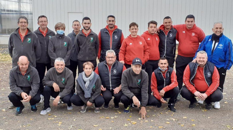 La pétanque de Gerzat victorieuse au 1er tour régional de la Coupe de France des clubs