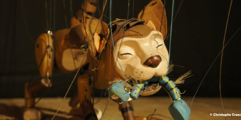 Spectacle de marionnettes à fils