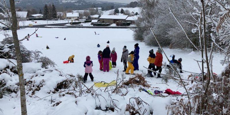 Le plein de neige au multisports