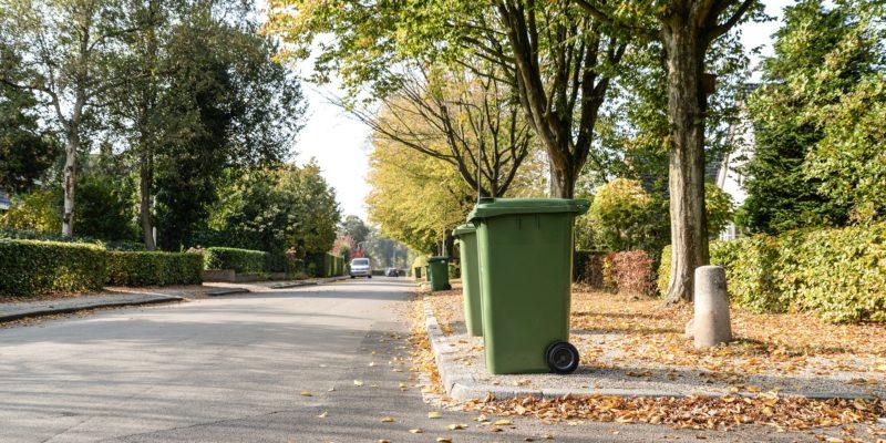 Inventaire des bacs de collecte des déchets