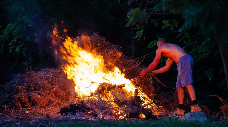 Le brûlage des déchets verts est interdit !
