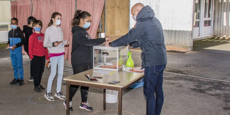 Résultats des élections du Conseil municipal des jeunes 2021-2024