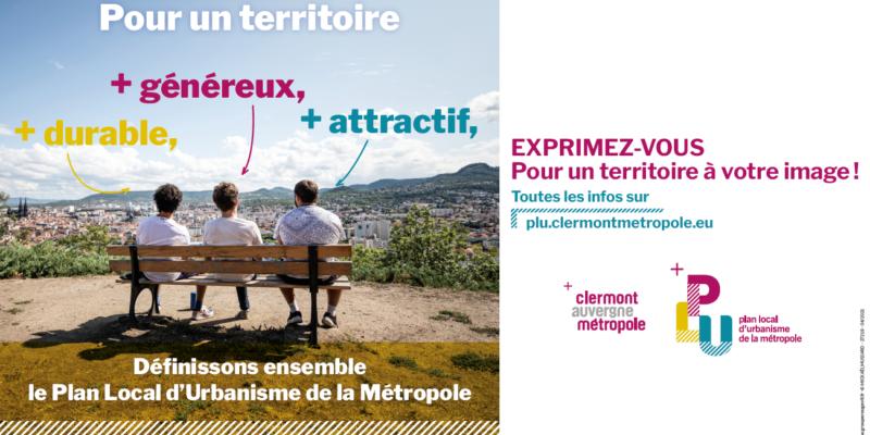 Nouvelle phase de concertation pour le PLU de Clermont Métropole
