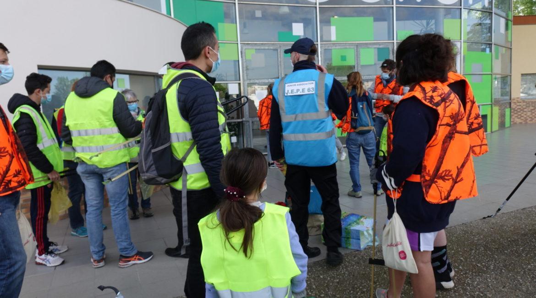 5 tonnes de déchets ramassés à Gerzat ce week-end