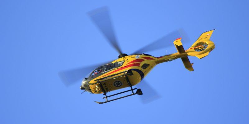 Une aire temporaire d'atterrissage à Ladoux pour l'hélicoptère du SMUR