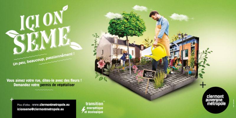 Permis de végétaliser : inscriptions ouvertes du 1er au 30 octobre 2021 pour le printemps 2022