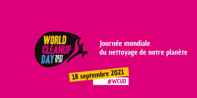 La ville de Gerzat participe au World CleanUp Day !