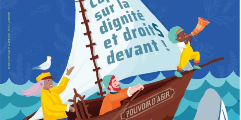 Débat « Renforcer le pouvoir d'agir pour lutter contre la pauvreté et gagner en dignité » – Samedi 16 octobre de 14h à 17h – Centre Alphonse Daudet
